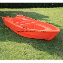 China 3,6 m PE pesca duro Motor plástico barco