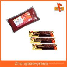 Lebensmittelqualität gedruckter Plastikkaffeebeutel / Zuckersatz / Chili-Sauce-Beutel / Tomate-Ketchup-Beutel / leerer Beutel / Beutelbeutel