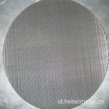 316L Multi-lapisan Disinter Wire Mesh disc