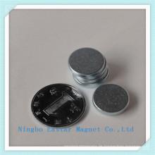 N45 Disc NdFeB Dauermagnet mit Verzinkung
