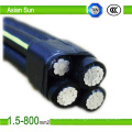 LV Suspension ABC Cable Aerial Bundled Cable Wire