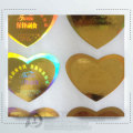 Custom Logo Laser 2D 3D Gold Security Hologram Label