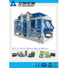 Bloque de ladrillo de cemento bloqueo fabricación de la máquina precio para la venta en EE.UU.