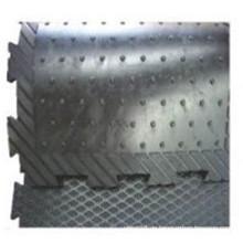 Kuhfußmatten / ineinandergreifende Matten / stabile Gummimatten