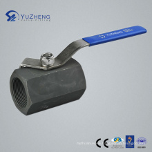 1PC Hex Carbon Steel Ball Valve with BSPP Thread