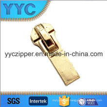 3805 Rectangular Puller with Metal Slider in Gold Color