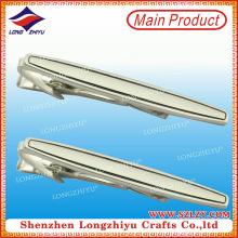 Kundenspezifischer Krawatten-Klipp, kundenspezifische Hersteller-Klipp-Bindung-unbelegter Bindung-Klipp