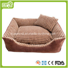 Trilateral Washable Niblet Pet Bed for Dog and Cat (HN-pH473)