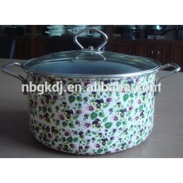 full spot decals white enamel steamer pot & enamel cookware full spot decals white enamel steamer pot & enamel cookware