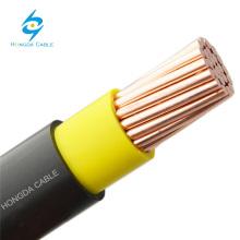 Fio de superfície isolado dobro do cabo do PVC 6181XY do único núcleo