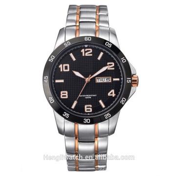 Reloj de cuarzo de la manera del acero inoxidable del nuevo movimiento de Japón del estilo Bg459