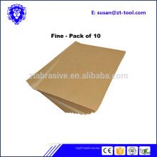 prix bas vente chaude polissage abrasif papier de verre pour bois