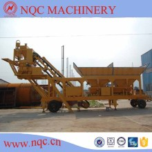 Yhzs 25/35/50 Mobile Concrete Batching Plant