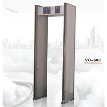 6 Zonenspaziergang durch Metalldetektor Vo-600