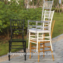 Colorful resin chiavari chair