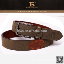 Long serve life high quality unisex genuine leather belt