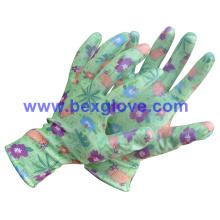 Color Printed Glove, Garden Glove