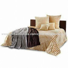 Faux Fur Blanket, Made of 100% Polyester, Available in Various Colors