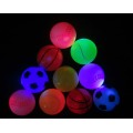 Light Up Flashing Sports Ball Bounce Balls