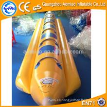 Barco de banana inflable del precio barato de la fábrica con el barco inflable de calidad superior, para la venta