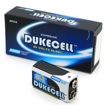 В 6lr61 батарея сухой батареи 1/С безртутные батареи