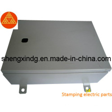 Stamping Punching Metal Power Distribution Cabinet Cover Parts (SX101)