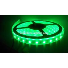 Couleur verte en gros led strip led led auto lampe flexible RGB led strip