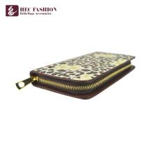 HEC New Fashion Fancy Muster PU Leder Material Münze Damen Geldbörse Bargeld Kreditkarte Telefon Nutzung Multifunktions Frauen Brieftasche