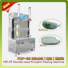 Machine d'épluchage de double-tête de potiron, machine d'épluchage chinoise de pastèque Fxp-99