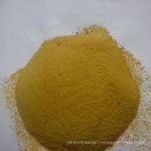 Poudre jaune Polychlorure d'aluminium à usage industriel (PAC)
