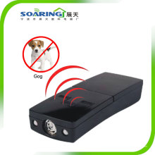 High Frequency Ultrasonic 3 In1 Dog Repeller com luz LED