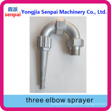 Three Elbow Sprayer
