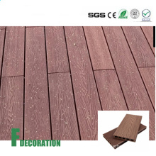 Wood Grain Timber Deck WPC Wood Plastic Composite