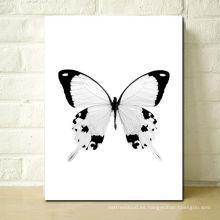 2013 Pintura asombrosa de la lona de la mariposa de la lona animal de la lona para el hogar y los regalos