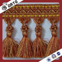 Chine Vente en gros de glands décoratifs pour rideau Sac à bandoulière Gomme décoratif Tableau initial Tassel