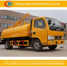4X2 Dongfeng 3t de esgoto / caminhão de sucção fecal