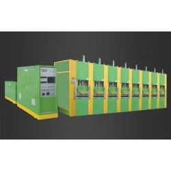 EK76B-8 Full-Automatic Vacuum Foaming Moulding Machine