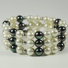 ODM for Wholesale Cuff Bracelets Pearl Beaded Cuff Bracelet Fashion Jewelry export to Finland Factory
