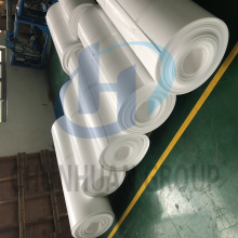 Hoja de rollo de PTFE Skived Sheet