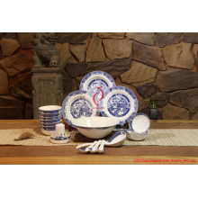 Luxe 28 PCS Chinese Classic Porcelain Tableware