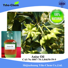 Huile d'anis en vrac d'huile essentielle d'anis