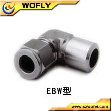 Ss316L accesorios de tubería de 90 grados codo de acero inoxidable