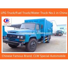 4 X 2 Dongfeng Camion un camion à ordures Ordures