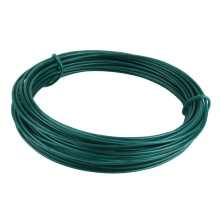 Factory Low carbon steel wire with plastic coated pvc wire/ pvc coated iron wire
