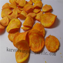 Healthy fried snacks vf carrot chip