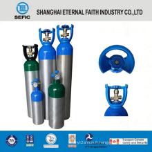 Cylindre de gaz en aluminium à haute pression de 7L (LWH140-7.0-15)