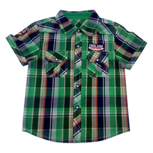 Camisa do menino dos miúdos para a roupa das crianças
