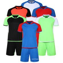 Sirva el jersey tailandés del fútbol de calidad del grado en la acción, jersey de encargo del jersey del estilo casero de la ciudad, jersey del fútbol del ori del grado