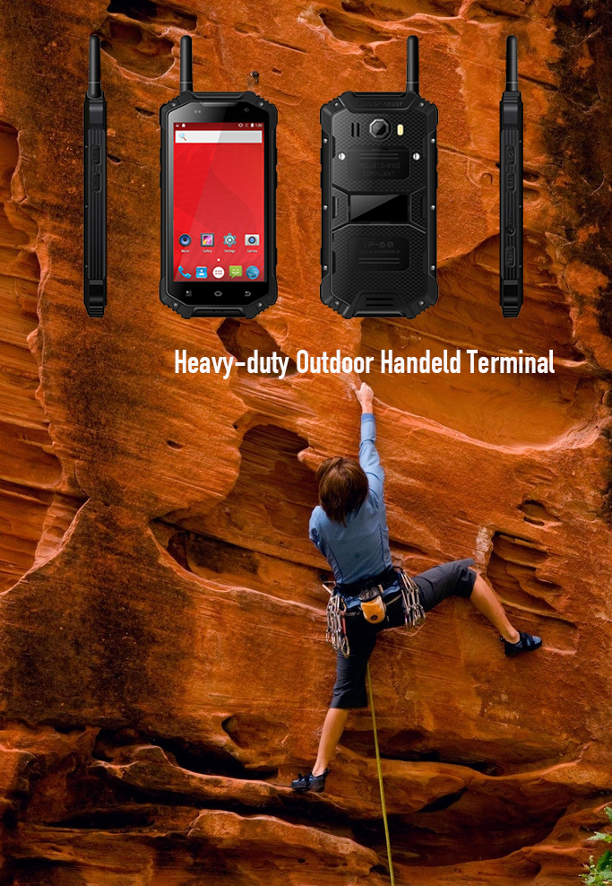 Heavy-duty Outdoor Handeld Terminal