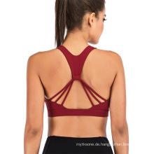 Fitness Sportübung Laufen BH Activewear Yoga Tops